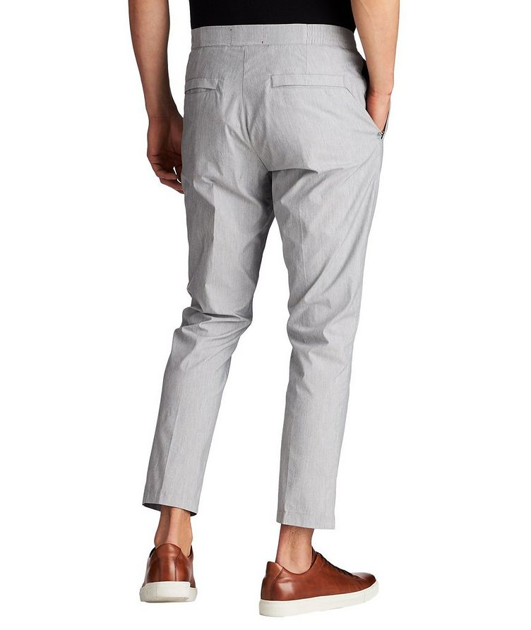 Cotton Blend Drawstring Pants image 1
