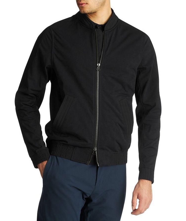 Cotton-Blend Bomber Jacket image 0