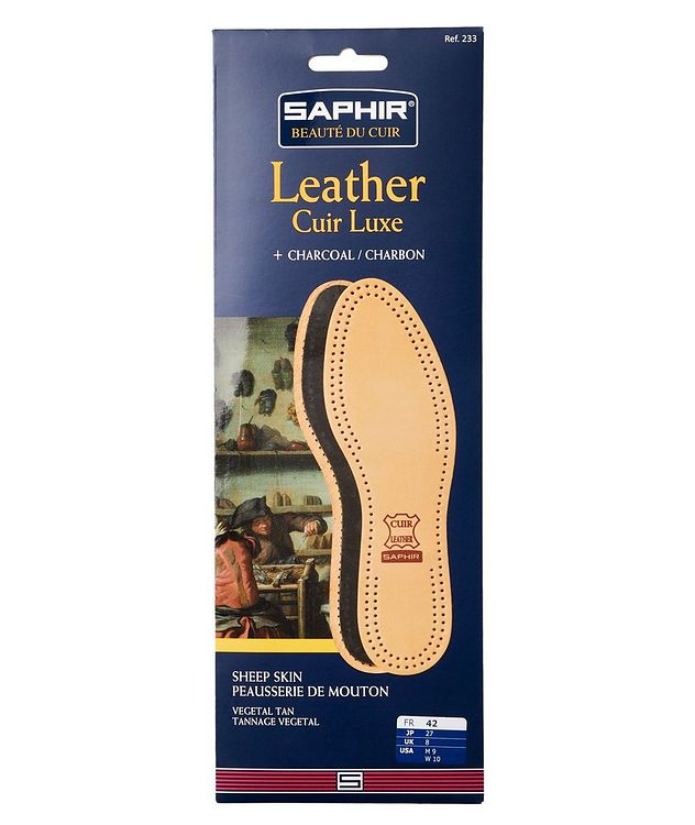 Sheepskin & Charcoal Insoles picture 1