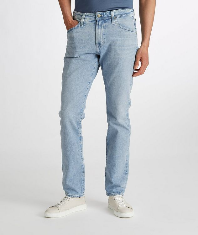 The Everett Slim Straight Stretch-Denim Jeans picture 3