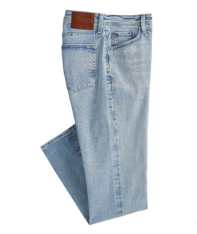 The Everett Slim Straight Stretch-Denim Jeans picture 1