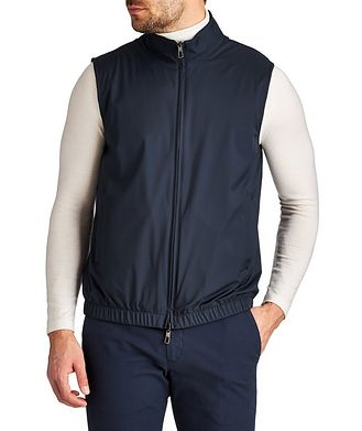 Loro Piana Reversible Green Storm System® Vest