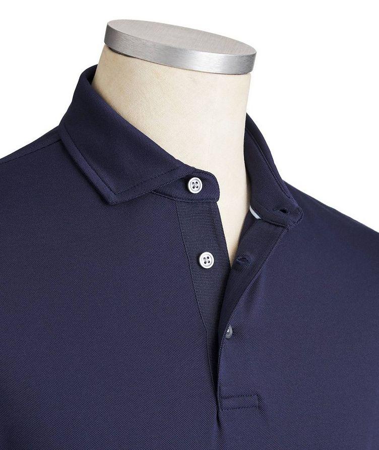 Polo en coton extensible à séchage rapide image 1