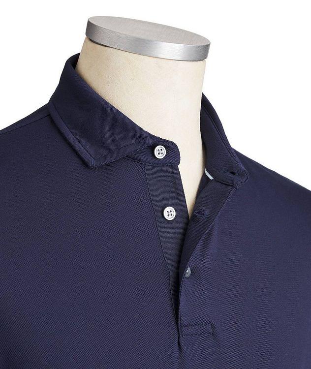 Polo en coton extensible à séchage rapide picture 2