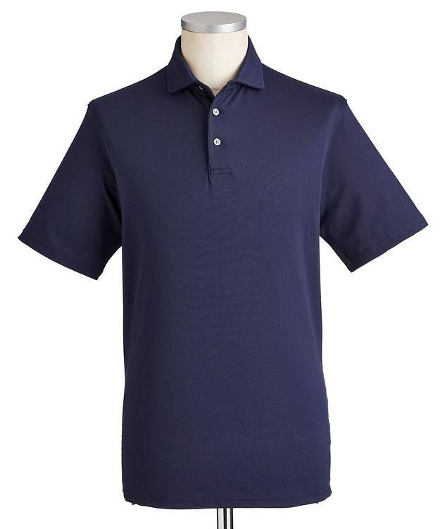 Polo en coton extensible à séchage rapide picture 1