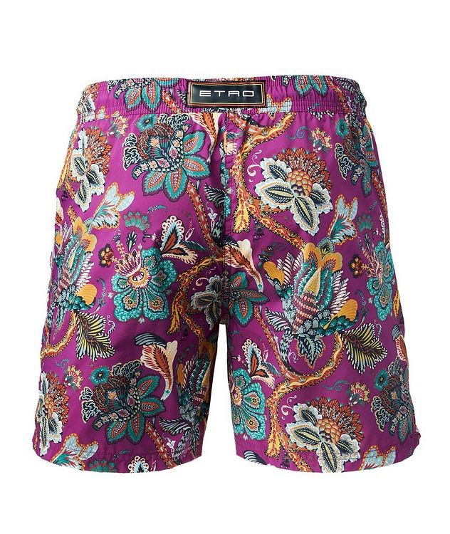 Printed Swim Trunks picture 2