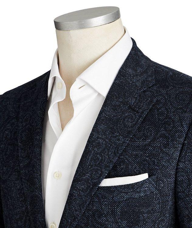Paisley Linen-Cotton Sports Jacket picture 2