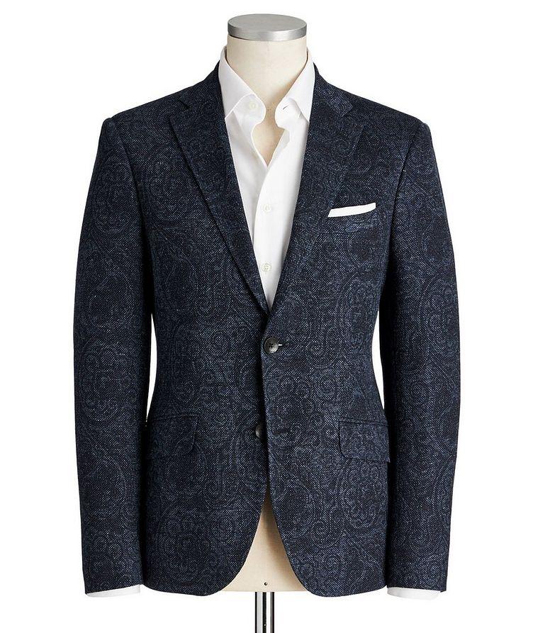 Paisley Linen-Cotton Sports Jacket image 0