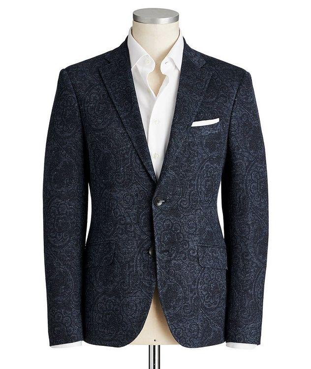 Paisley Linen-Cotton Sports Jacket picture 1