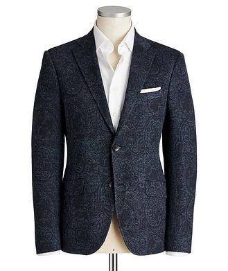 Etro Paisley Linen-Cotton Sports Jacket
