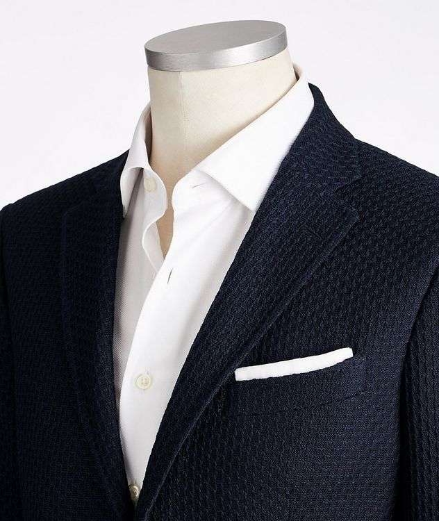 Checked Cotton Sports Jacket picture 2
