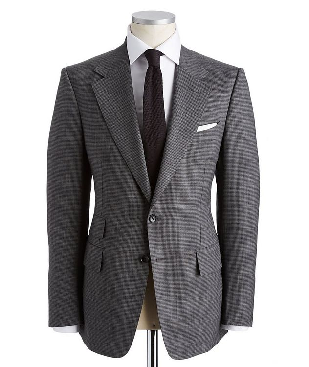 Shelton Stretch-Wool Sports Jacket picture 1