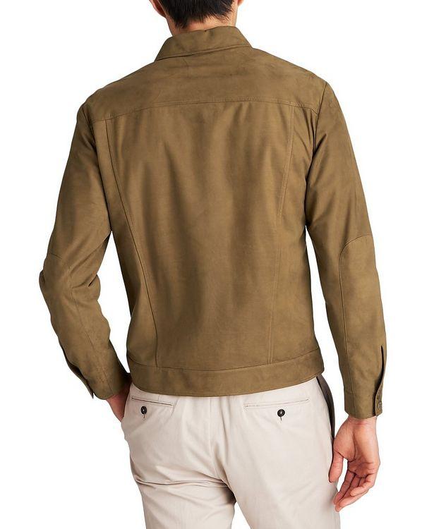 Veste-chemise en suède picture 2