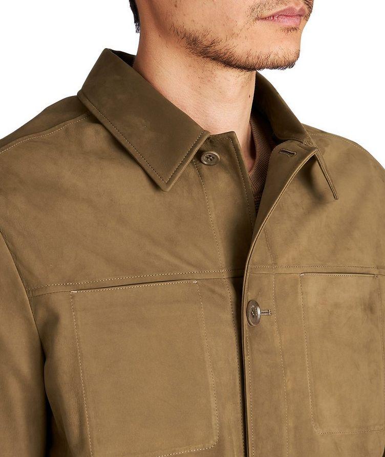 Suede Shirt Jacket image 2