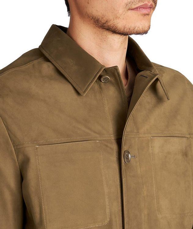 Veste-chemise en suède picture 3