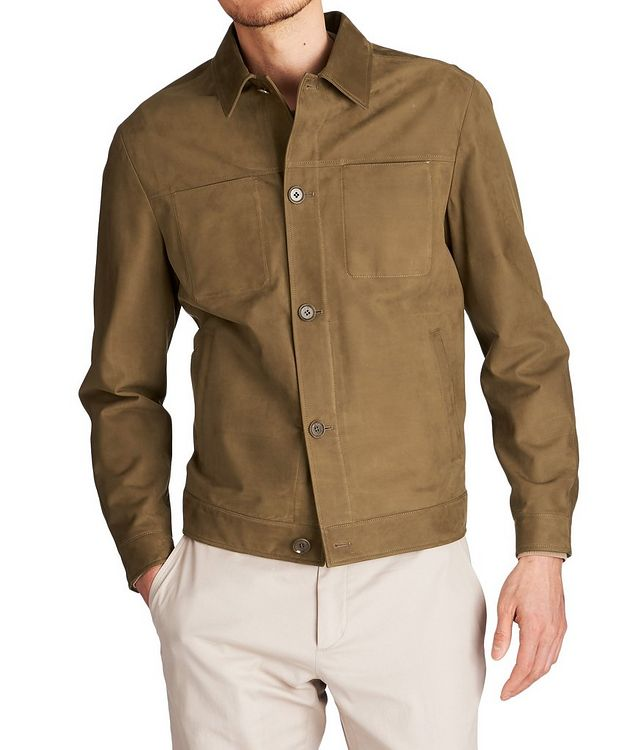 Suede Shirt Jacket picture 1