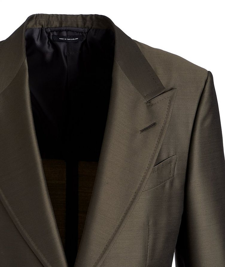 Shelton Wool, Mohair, and Silk Sports Jacket image 1