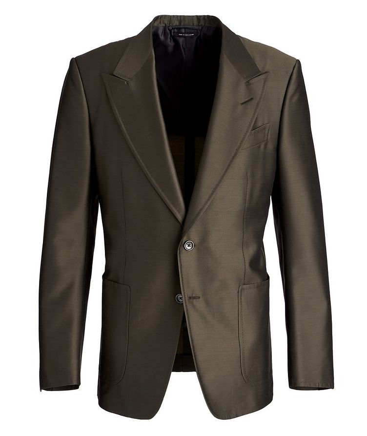 Shelton Wool, Mohair, and Silk Sports Jacket image 0