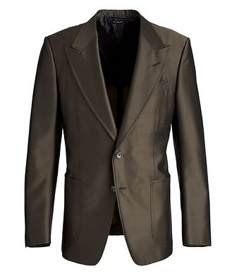 TOM FORD Shelton Wool, Mohair, and Silk Sports Jacket