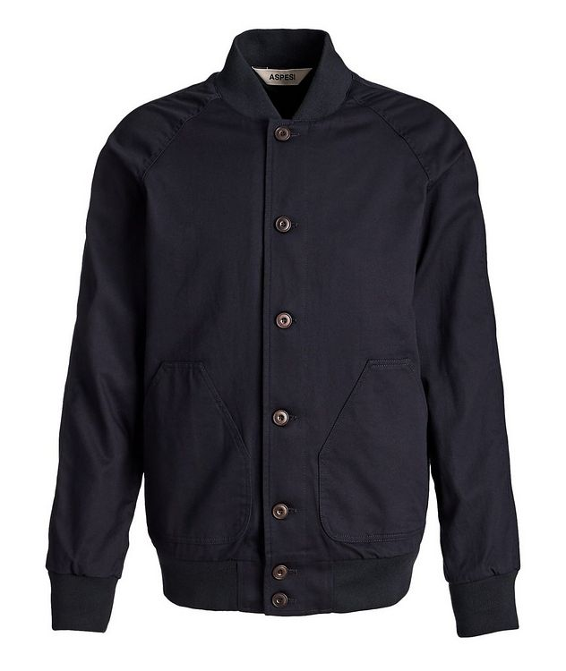 Button-Up Bomber Jacket picture 1