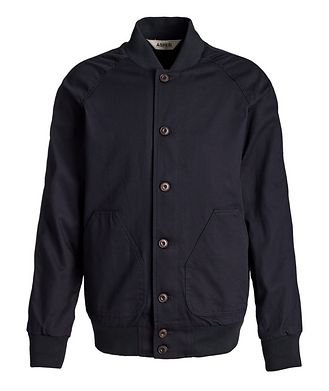 Aspesi Button-Up Bomber Jacket