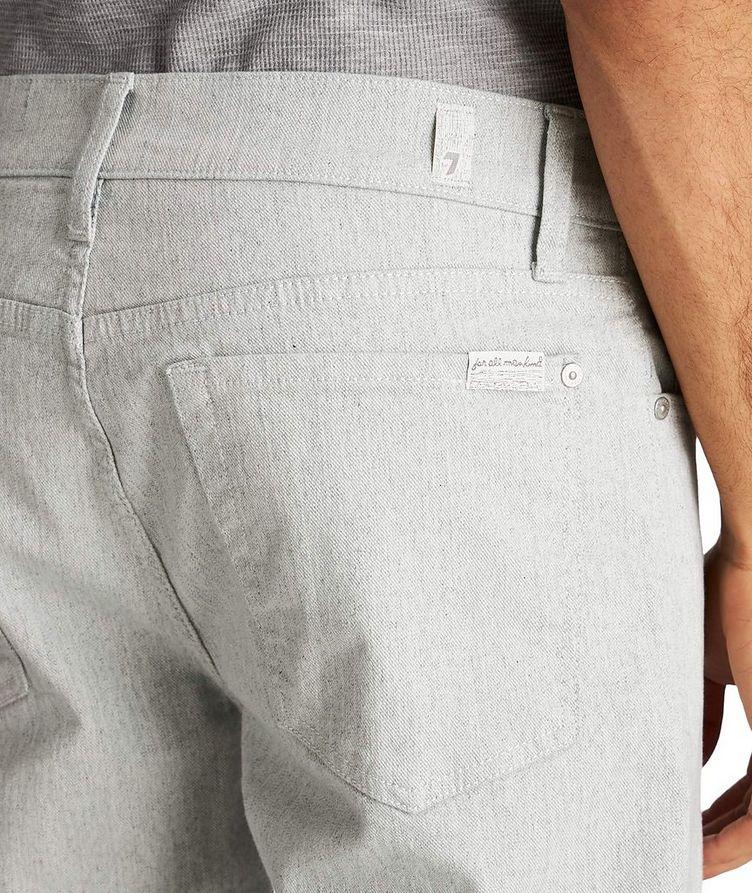 Jean Adrien en coton extensible de coupe amincie image 2