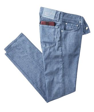 Jacob Cohen Slim Fit Five-Pocket Pants