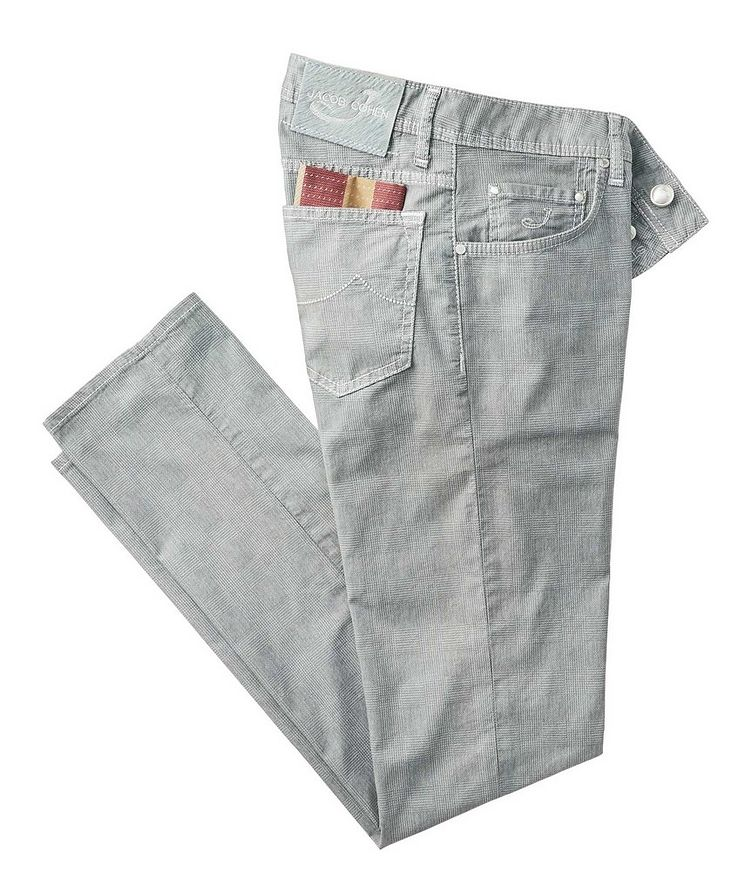 Slim Fit Five-Pocket Pants image 0