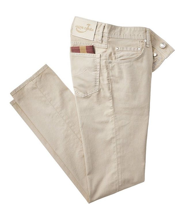 Slim Fit Five-Pocket Pants picture 1