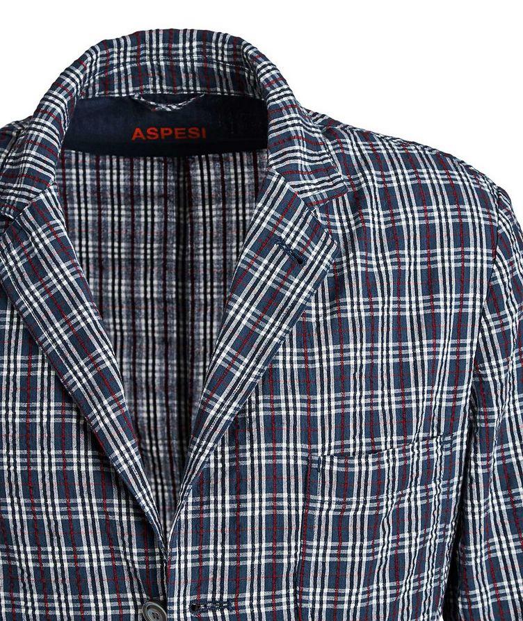 Unstructured Plaid Sports Jacket image 1