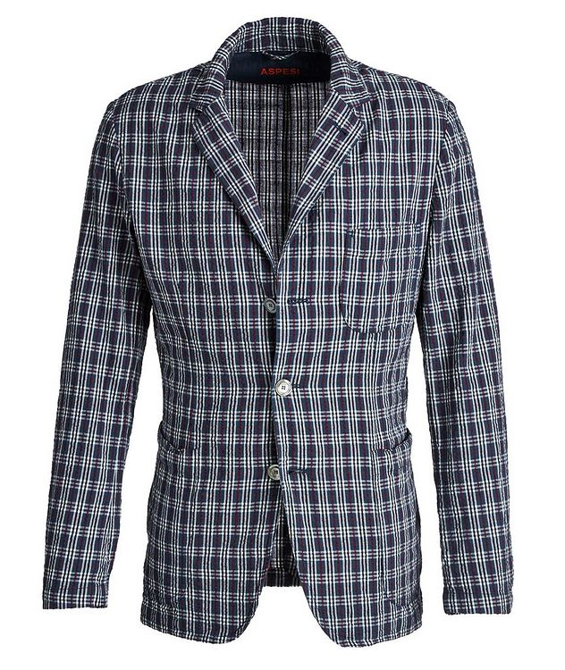 Unstructured Plaid Sports Jacket picture 1