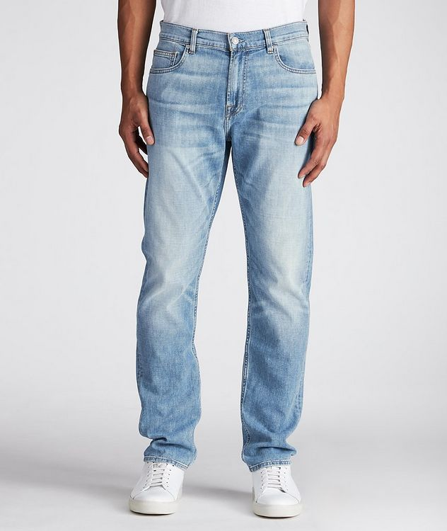 Adrien Slim-Fit Stretch-Cotton Jeans picture 1