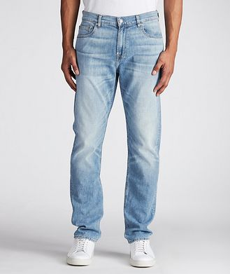 7 For All Mankind Adrien Slim-Fit Stretch-Cotton Jeans