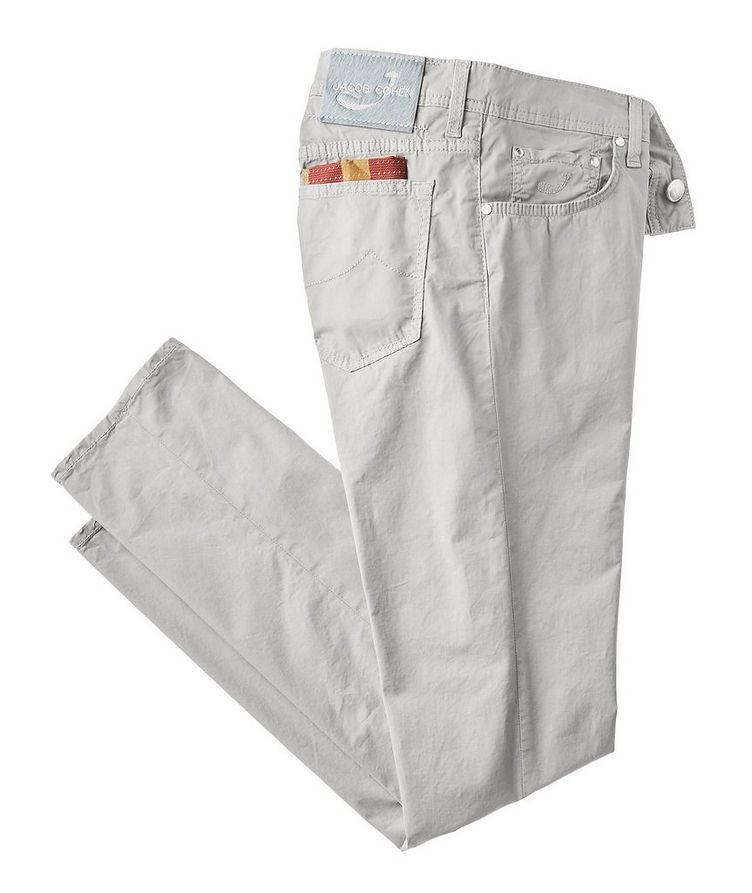 Slim Fit Five-Pocket Pants image 0