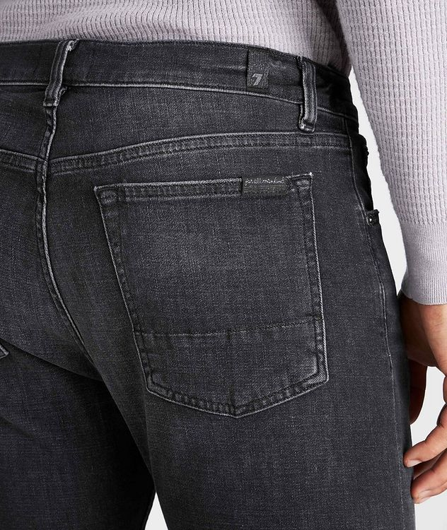 Adrien Slim Fit Stretch-Cotton Jeans picture 3