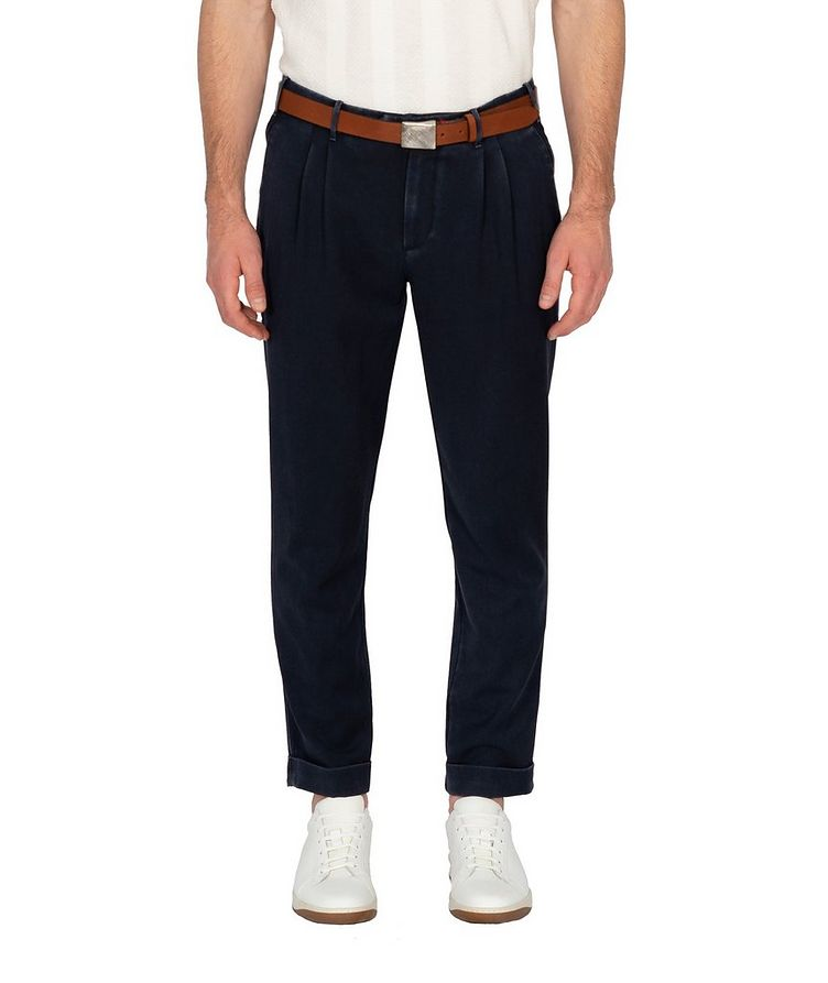 Faded Linen Pants image 0