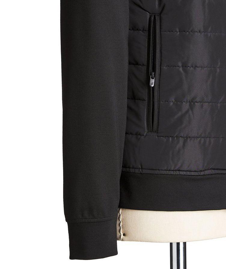 Zip-Up Stretch-Blend Sweatshirt image 2