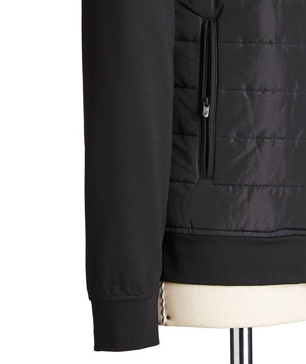 Zip-Up Stretch-Blend Sweatshirt picture 3