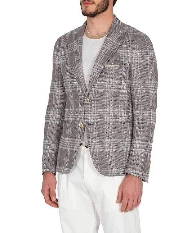 Checked Sports Jacket picture 3