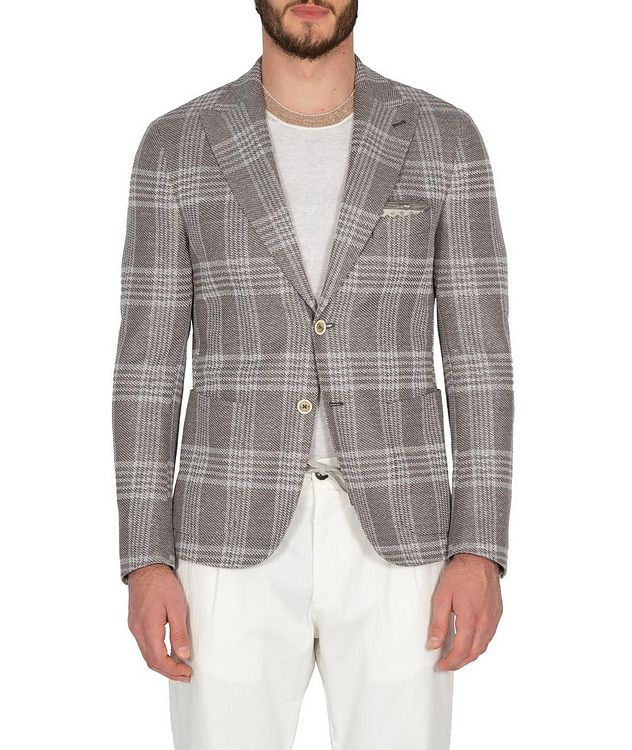 Checked Sports Jacket picture 1