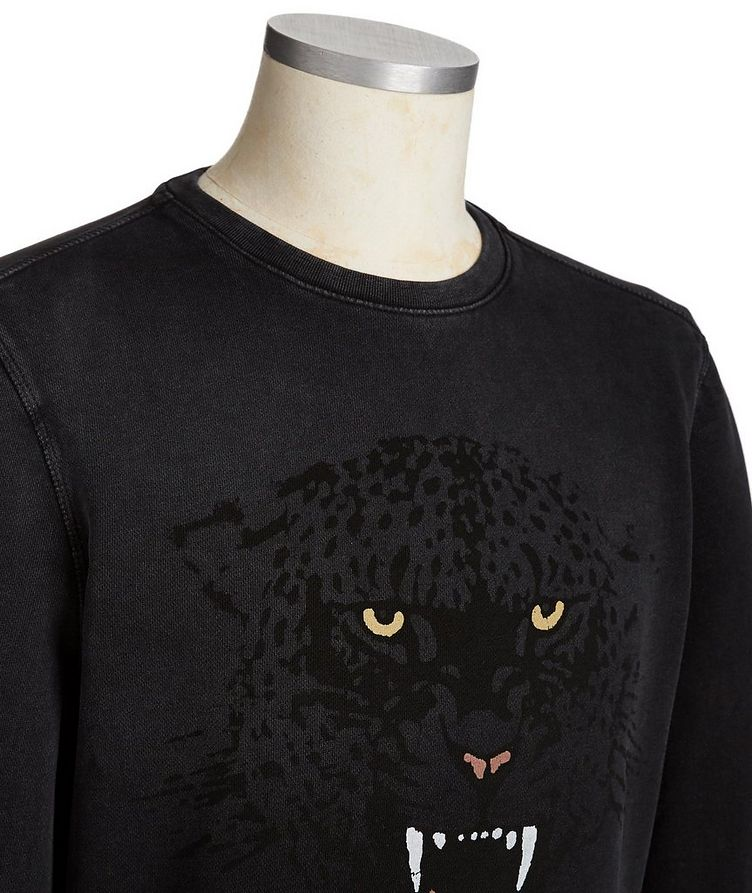 Printed Cotton Sweatshirt image 1