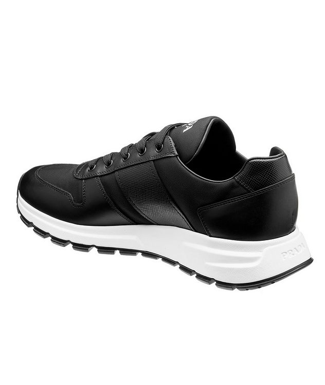Match Race Leather & Nylon Sneakers  picture 2
