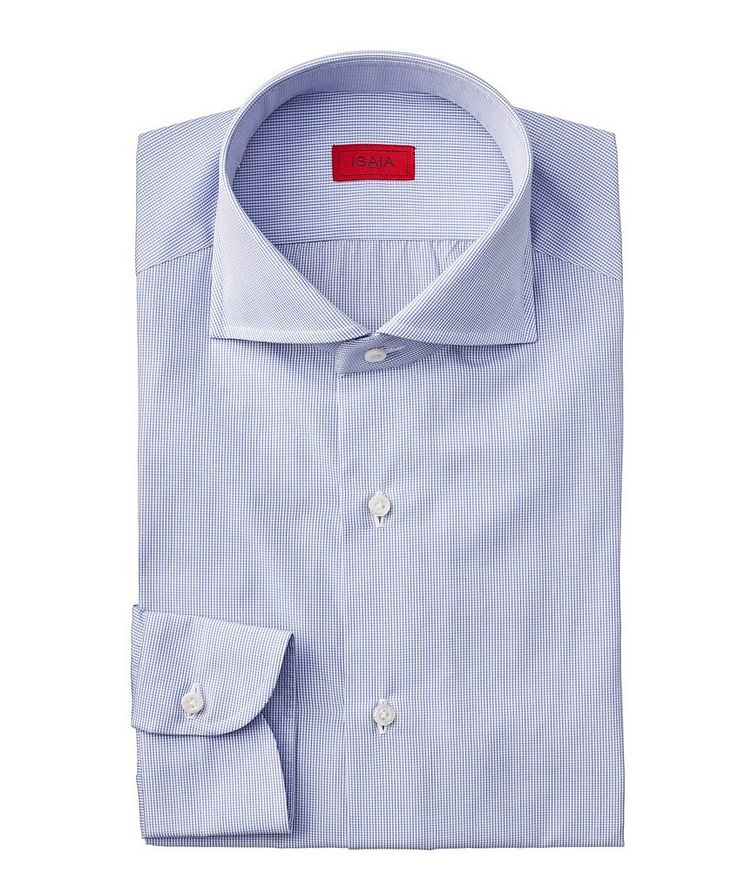 Contemporary Fit Grid Checked Dress Shirt image 0