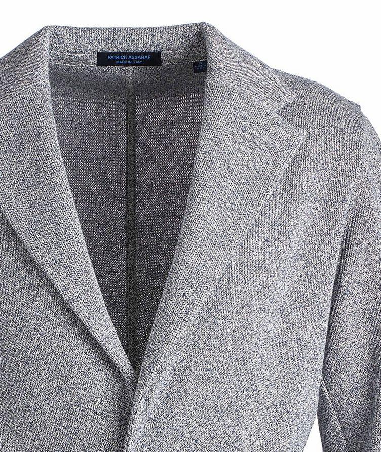 Cotton-Linen Sweater Jacket image 2