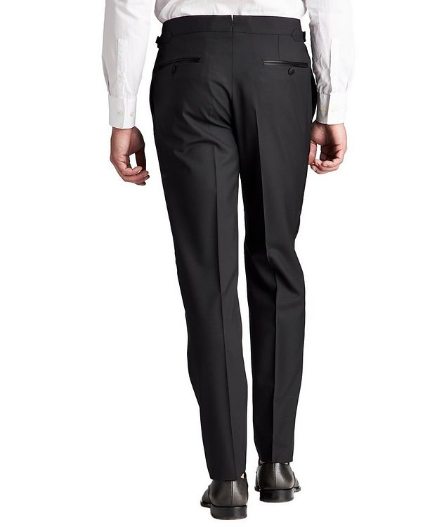 Slim Fit Wool Tuxedo Pants picture 2