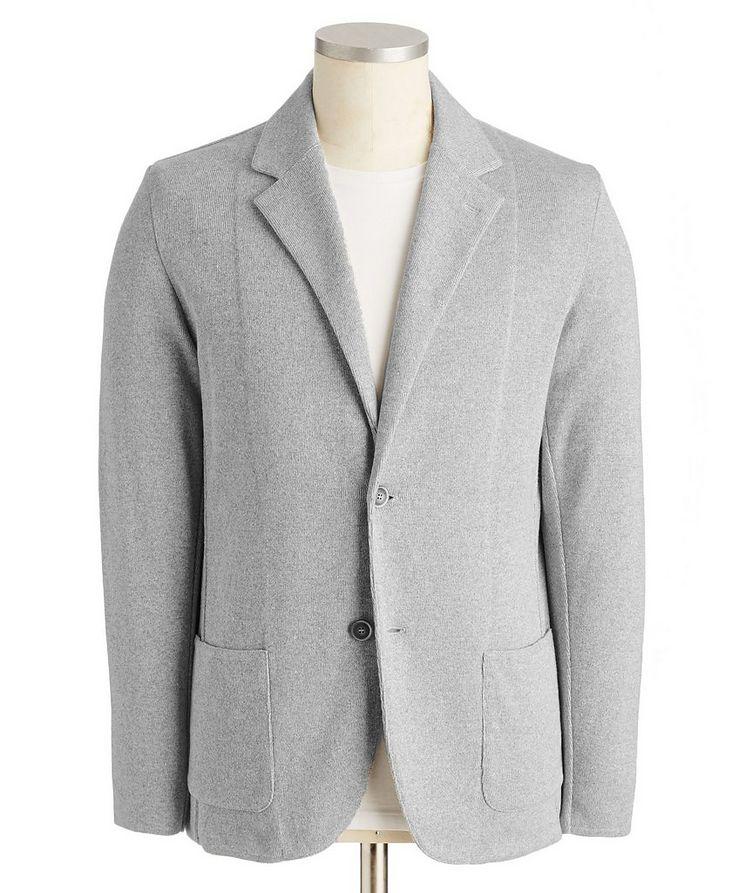 Cotton-Linen Sweater Jacket image 0