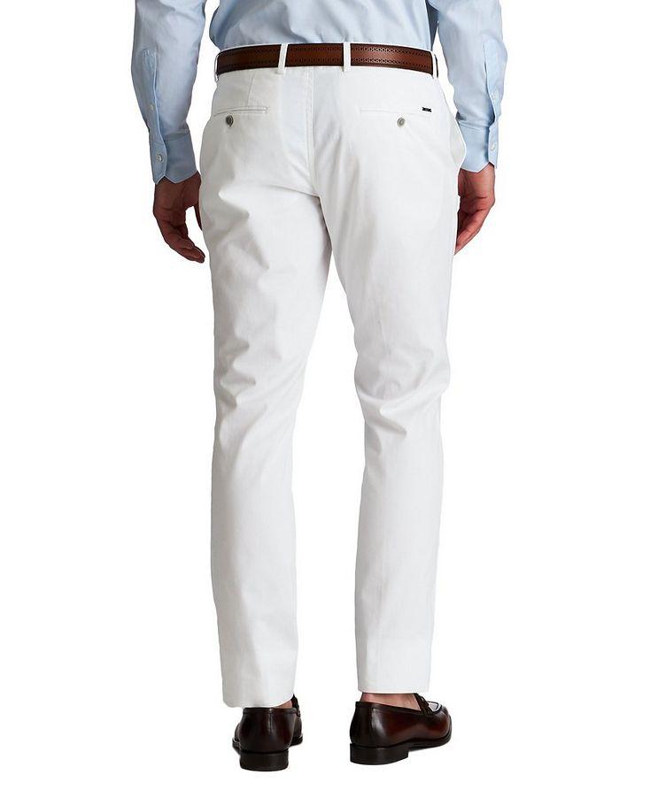 Slim Fit Stretch-Cotton Dress Pants image 1