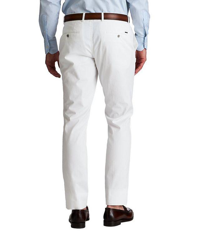 Slim Fit Stretch-Cotton Dress Pants picture 2
