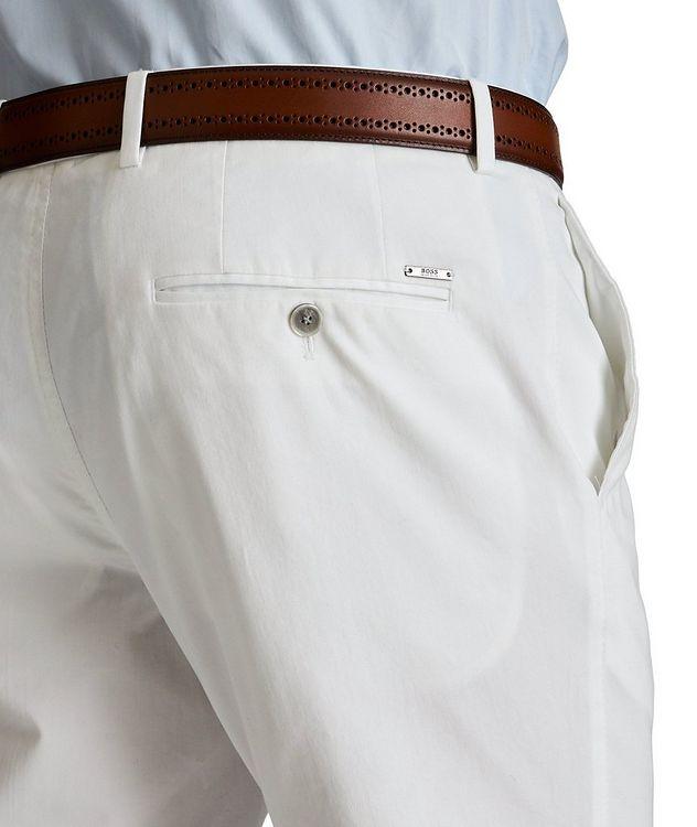 Slim Fit Stretch-Cotton Dress Pants picture 3