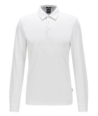 BOSS Long-Sleeve Cotton Polo